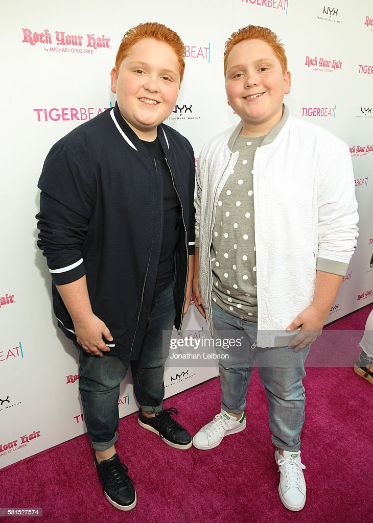 Benjamin Royer and Matthew Royer attend TigerBeat's Official Teen Choice Awards Pre-Party Sponsored by NYX Professional Makeup and Rock Your Hair at HYDE Sunset: Kitchen + Cocktails on July 28, 2016 in West Hollywood, California.