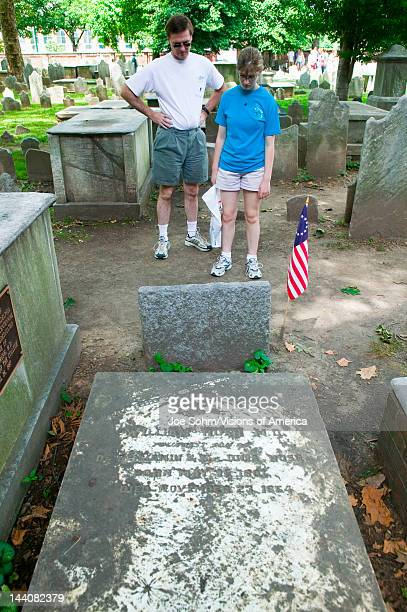 Benjamin Rush MD gravestone in Christ Church Burial Ground Philadelphia Pennsylvania a signer of the Declaration of Independence