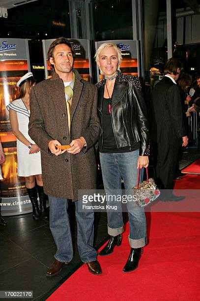 Benjamin Sadler And Natascha Ochsenknecht at The Premiere 'From Search And Find The Love' in Cinestar at Potsdamer Platz in Berlin 240105