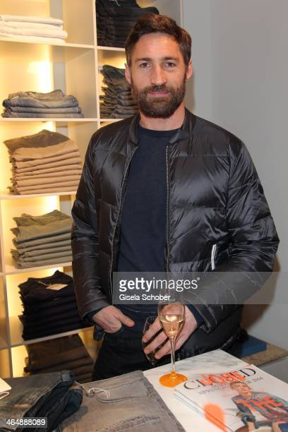 Benjamin Sadler attends 'Clicquot in the Snow' on January 24 2014 in Kitzbuehel Austria
