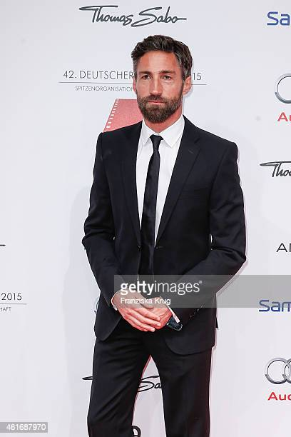 Benjamin Sadler attends the German Film Ball 2015 on January 17 2015 in Munich Germany