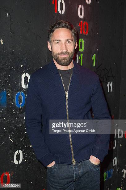 Benjamin Sadler attends the Medienboard PreChristmas Party 2014 at Kraftwerk on December 4 2014 in Berlin Germany