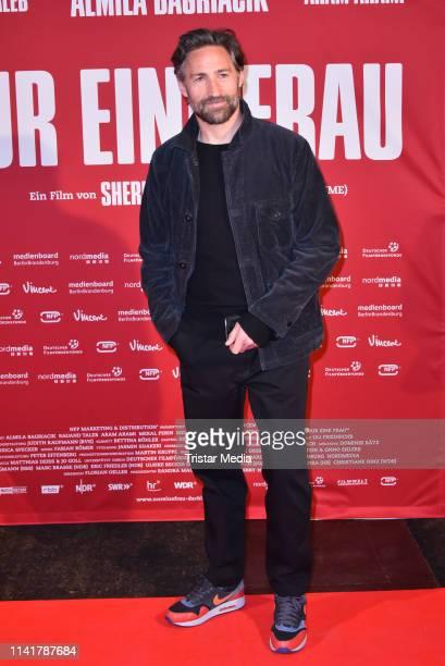 Benjamin Sadler attends the 'Nur eine Frau' premiere at Kino International movie theater on May 6 2019 in Berlin Germany