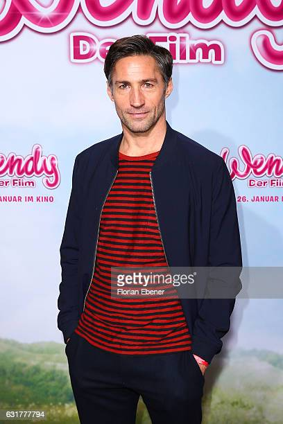 Benjamin Sadler attends the premiere of 'Wendy Der Film' at Cinedom on January 15 2016 in Cologne Germany