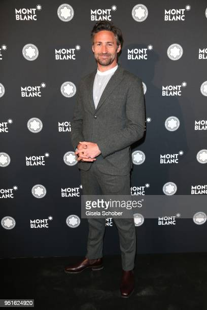 Benjamin Sadler during the 27th Montblanc de la Culture Arts Patronage Award at Residenz on April 26 2018 in Munich Germany