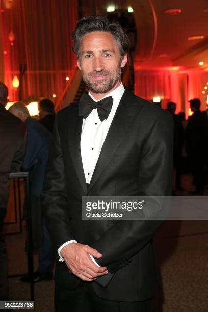 Benjamin Sadler during the Lola German Film Award party at Palais am Funkturm on April 27 2018 in Berlin Germany