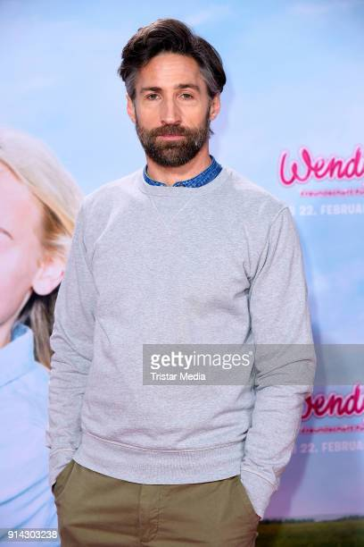 Benjamin Sadler during the premiere of 'Wendy 2 Freundschaft fuer immer' at Cinedom on February 4 2018 in Cologne Germany