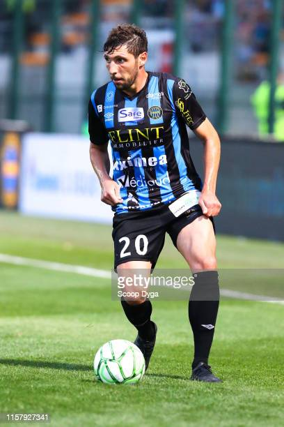 Benjamin Santelli of Chambly during the Ligue 2 match between FC Chambly and Valenciennes FC at Stade Pierre Brisson on July 26 2019 in Beauvais...