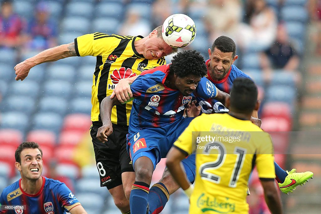 A-League Rd 10 - Newcastle v Wellington