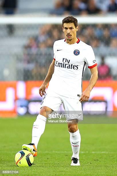 Benjamin Stambouli of Paris SG during the French Ligue 1 match between FC Girondins de Bordeaux and Paris Saint-Germain at Nouveau Stade de Bordeaux...