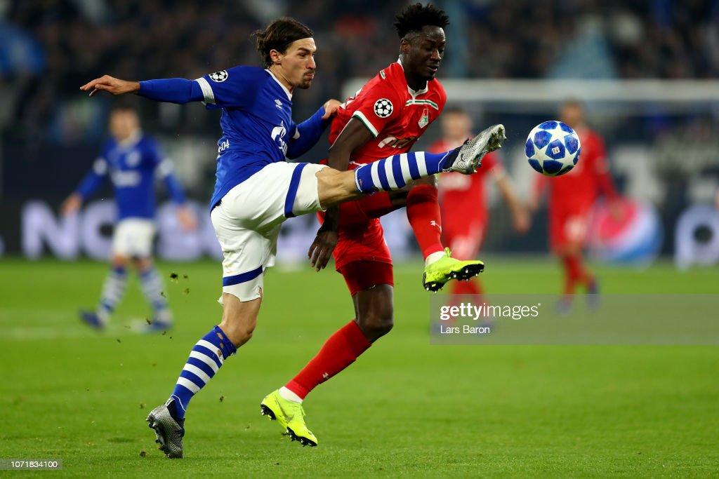 FC Schalke 04 v FC Lokomotiv Moscow - UEFA Champions League Group D : Nachrichtenfoto