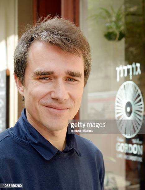 Benjamin Steinitz from the Research and Information Point against Antisemitism can be seen in Berlin Germany 3 May 2017 Photo Jens...