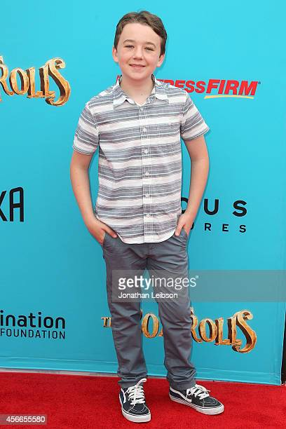 Benjamin Stockham attends the The Boxtrolls Los Angeles Premiere Benefiting The Imagination Foundation at Universal Studios Hollywood on September 21...