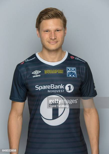 Benjamin Stokke of Team Kristiansund BK on March 7 2017 in Kristiansund Norway