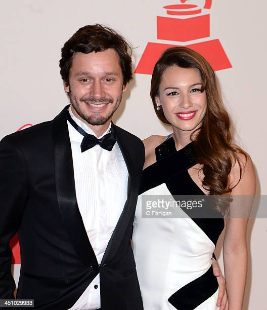 Benjamin Vicuna and Pampita arrive at the 2013 Latin Recording Academy Person Of The Year Tribute Honoring Miguel Bose at the Mandalay Bay Convention...