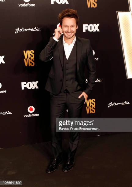 Benjamin Vicuna attends 'Vis A Vis' photocall at Santo Mauro Hotel on November 29 2018 in Madrid Spain