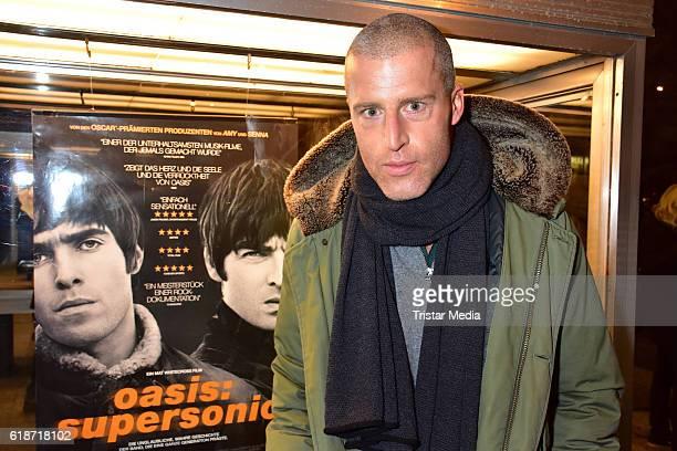 Benjamin von StuckradBarre attends the 'Oasis Supersonic' German Premiere In Berlin on October 27 2016 in Berlin Germany