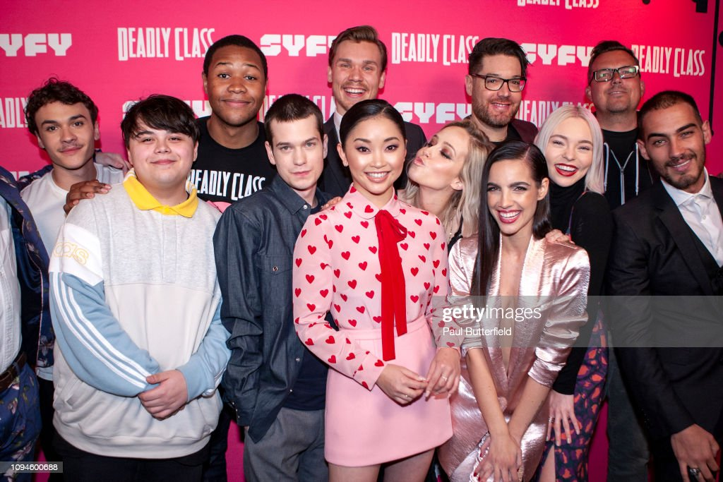"Kevin Smith Hosts Premiere Week Screening Of SYFY's ""Deadly Class"" With Cast : News Photo"