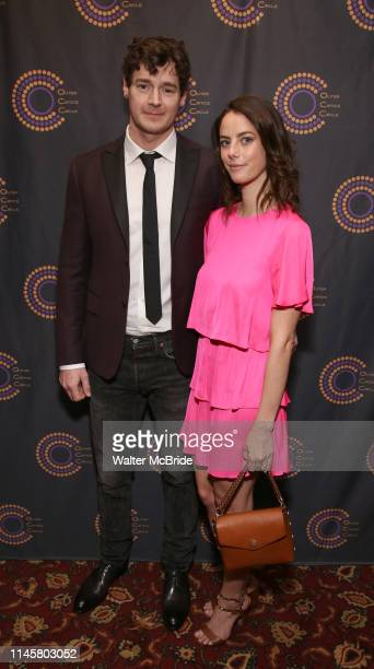 Benjamin Walker and Kaya Scodelario attend The 69th Annual Outer Critics Circle Awards Dinner at Sardi's on May 23 2019 in New York City