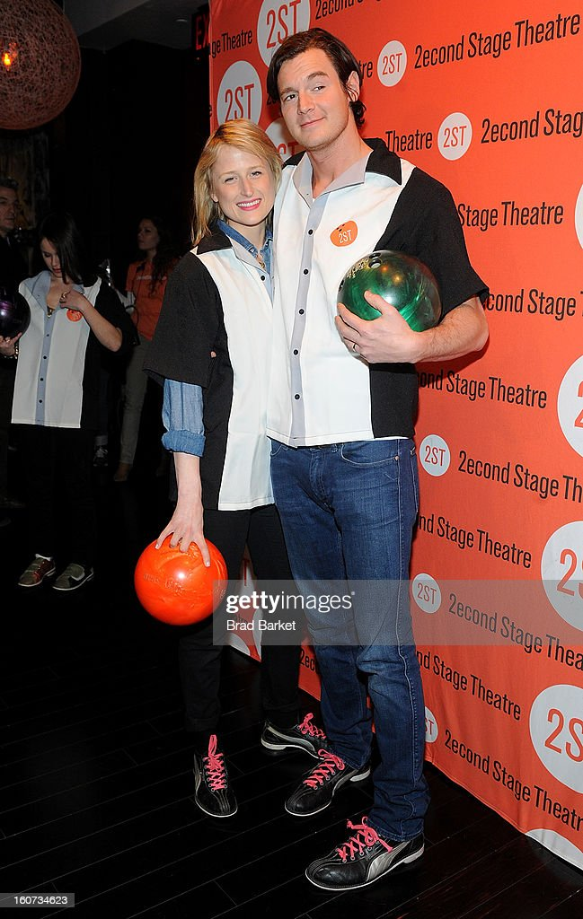 Benjamin Walker attend the Second Stage Theatre's 26th Annual All-Star Bowling Classic at Lucky Strike on February 04, 2013 in New York City.
