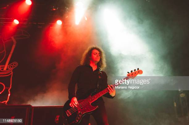 Benji Blakeway from Catfish and the Bottlemen performs on stage on May 13, 2019 in Madrid, Spain.
