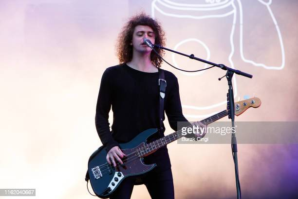 Benji Blakeway of Catfish and the Bottlemen performs at Citadel Festival at Gunnersbury Park on July 14, 2019 in London, England.