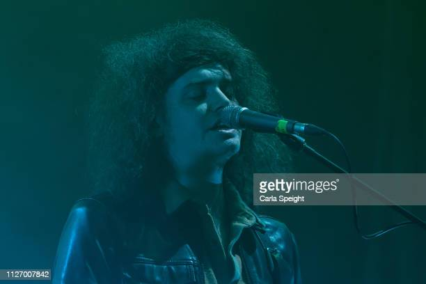 Benji Blakeway of Catfish and the Bottlemen performs at the Bonus Arena on February 23, 2019 in Hull, England.