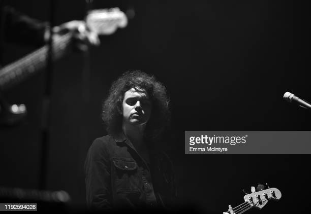 Benji Blakeway of Catfish and the Bottlemen performs onstage during KROQ Absolut Almost Acoustic Christmas 2019 at Honda Center on December 07, 2019...