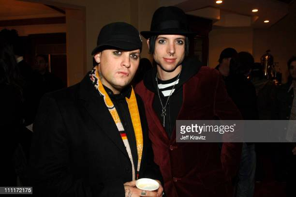 Benji Madden and Billy Martin during Alternative Exposure Presents the Dead Executives Holiday Party December 17 2005 at Feldman Residence in Bel Air...