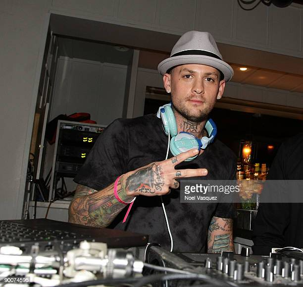 Benji Madden attends Nylon Magazine's TV Issue Launch Party at the Skybar on August 24 2009 in West Hollywood California