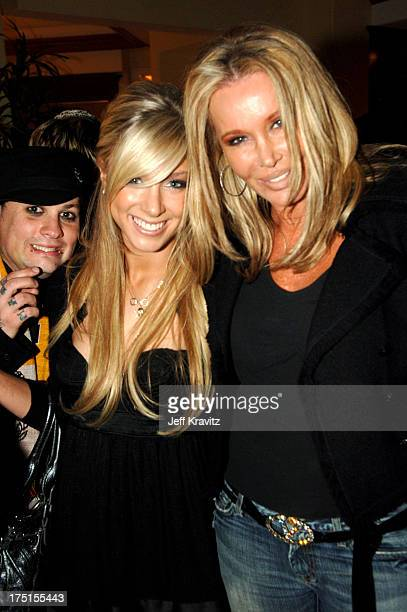 Benji Madden Caleigh Peters and Christine ForsythPeters **exclusive**