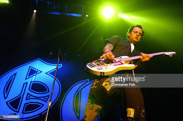 Benji Madden from the band Good Charlotte during Good Charlotte Performs at University of California Irvine Bren Center in Irvine, CA, United States.