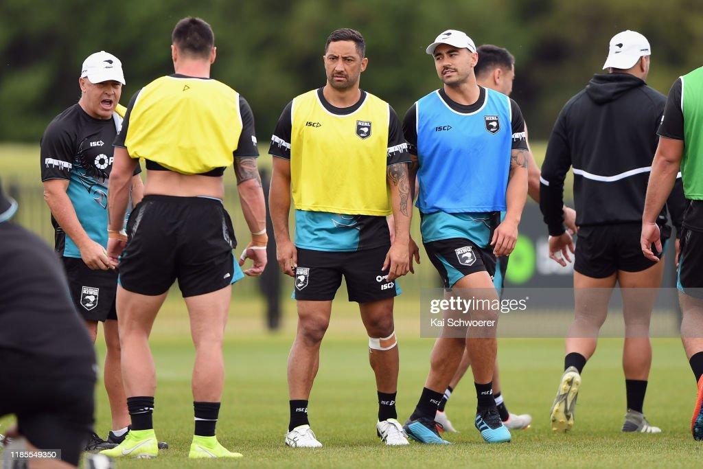 New Zealand Kiwis Training Session : News Photo