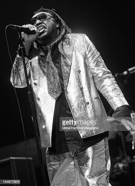 Benji Webbe of Skindred performs live on stage at Ozzfest on September 18 2010