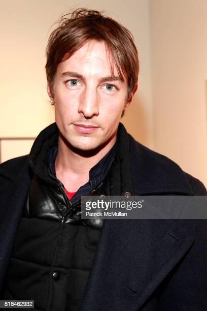 Benn Northover attends PATTI SMITH and STEVEN SEBRING OBJECTS OF LIFE Opening Reception at Robert Miller Gallery on January 6 2010 in New York City