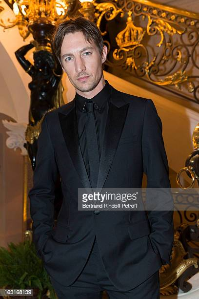 Benn Northover attends the 'CR Fashion Book Issue 2' Carine Roitfeld Cocktail as part of Paris Fashion Week at Hotel ShangriLa on March 5 2013 in...