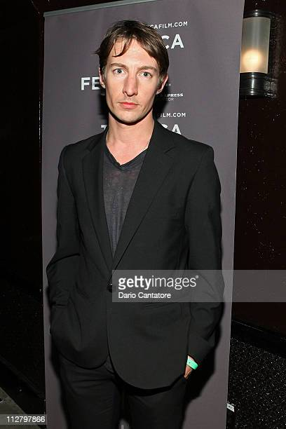 Benn Northover attends the Tribeca Film Festival celebration for the premiere of Lotus Eaters at Liberty Hall at Ace Hotel on April 21 2011 in New...