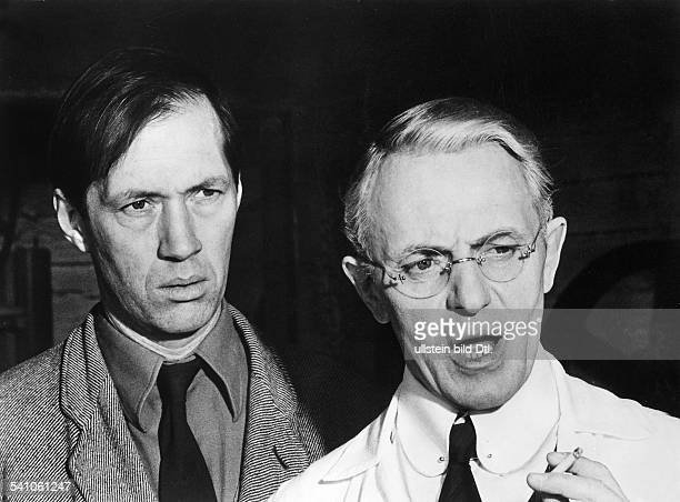 Bennent Heinz *Schauspieler D mit David Carradine in dem Film 'Das Schlangenei' von Ingmar Bergman 1977
