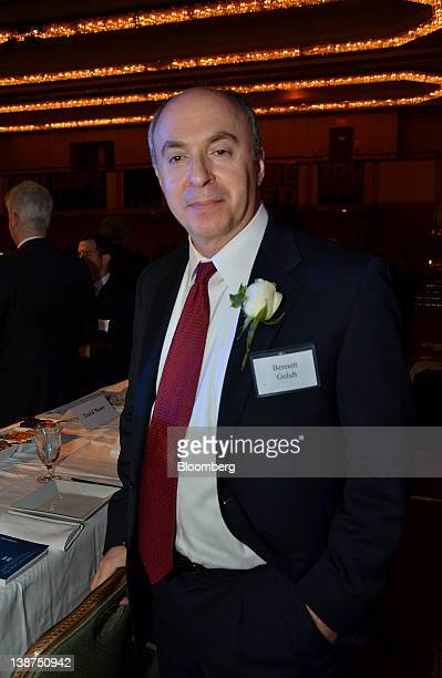 Bennett Golub chief risk officer of BlackRock Inc stands for a photograph during the UJAFederation of New York Wall Street Dinner in New York US on...