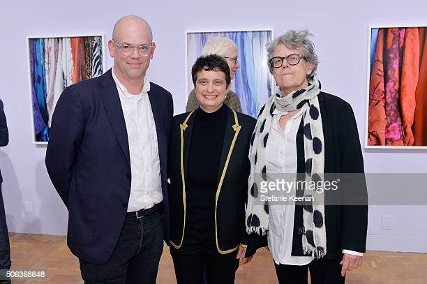 Bennett Simpson Susan Dackerman and Catherine Lord attend MOCA's Leadership Circle Members' Opening And Artist Dinner For Catherine Opie 700 Nimes...