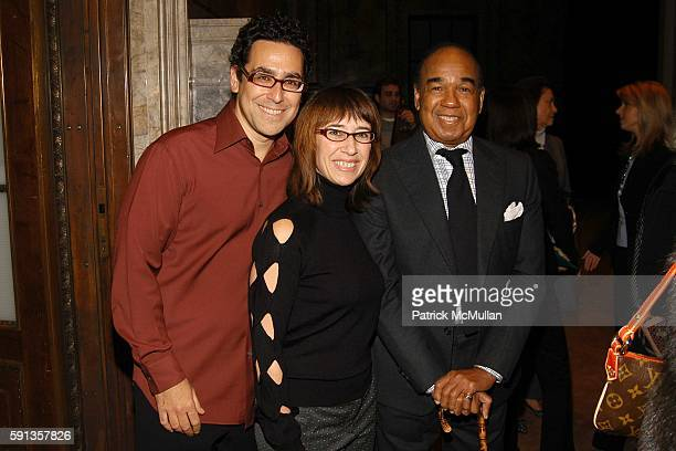 Bennett Windheim Lisa Homa and Bobby Short attend Vanity Fair Editor Graydon Carter and Saks Chairman CEO Fred Wilson host a private screening of...