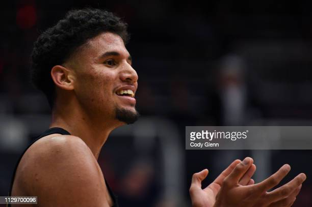 Bennie Boatwright of the USC Trojans during their game against the Stanford Cardinal at Maples Pavilion on February 13 2019 in Palo Alto California