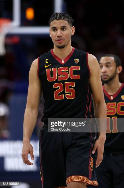 Bennie Boatwright of the USC Trojans walks on the floor during the second half of the college basketball game against the Arizona Wildcats at McKale...