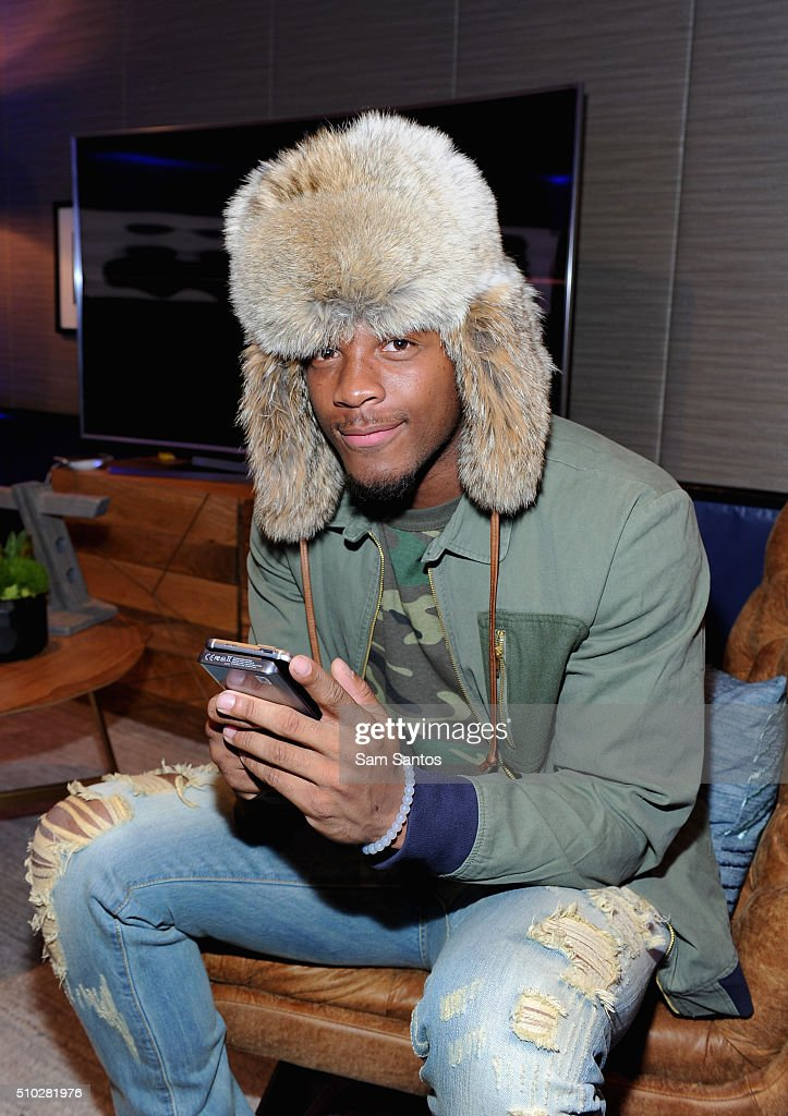 Bennie Fowler at the Samsung Galaxy Lounge during NBA All-Star 2016 on February 14, 2016 in Toronto, Canada.