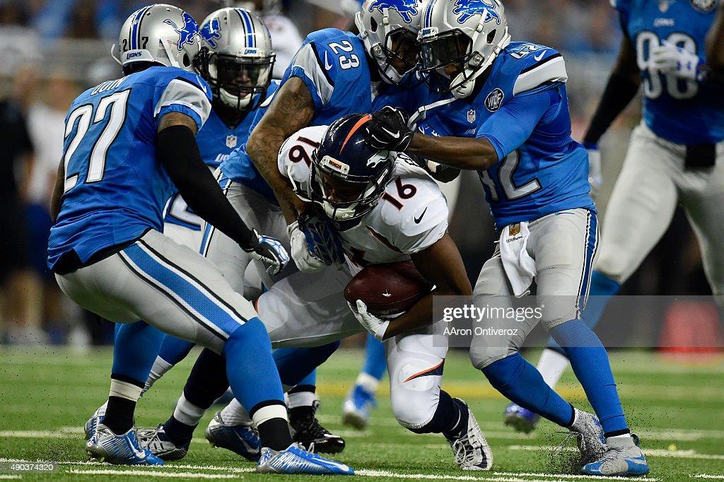 Denver Broncos vs Detroit Lions, NFL Week 3 : News Photo