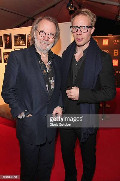 Benny Anderson and son Ludvig attend the Bild 'Place to B' Party during the 64th Berlinale International Film Festival on February 8 2014 in Berlin...