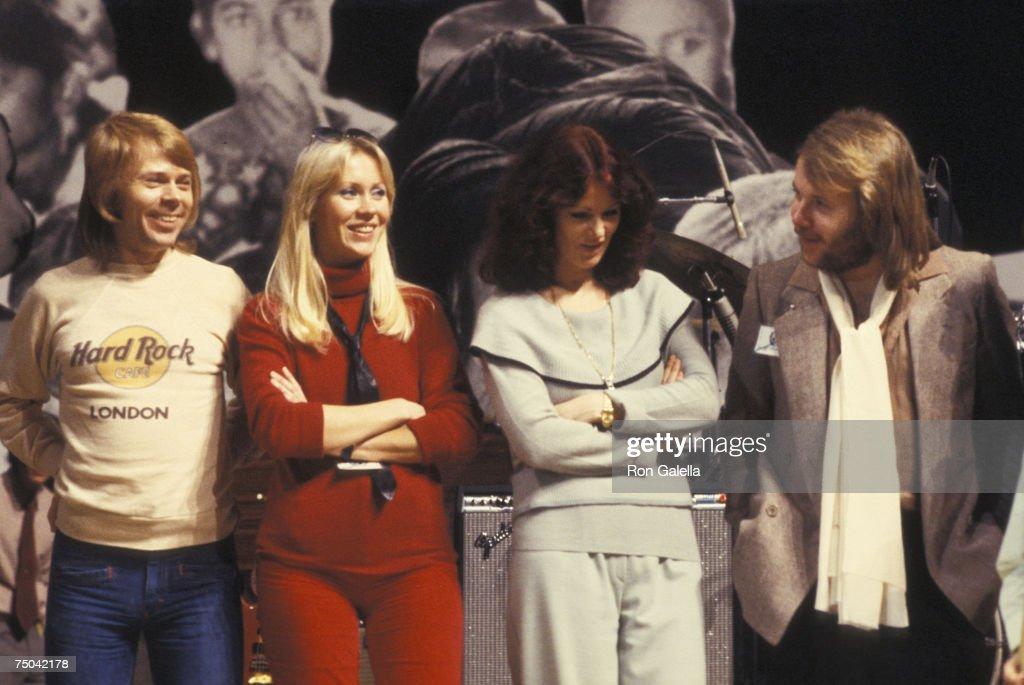Benny Andersson, Agnetha Faltskog, Anni-Frid Lyngstad and Bjorn Ulvaeus of ABBA