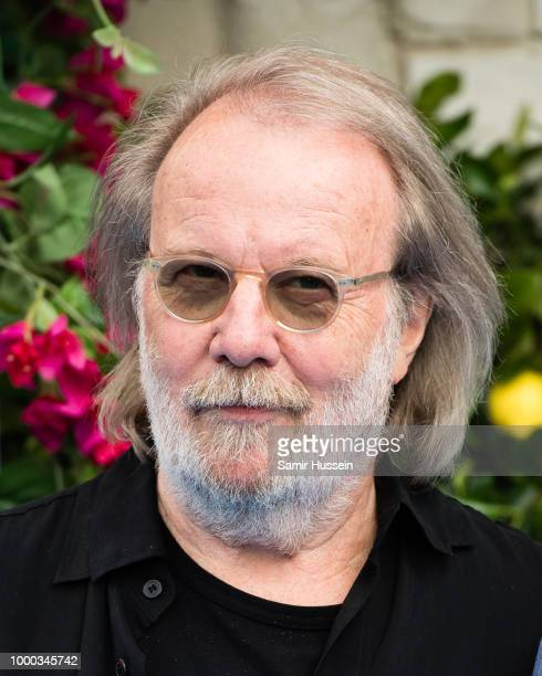 Benny Andersson of Abba attends the UK Premiere of Mamma Mia Here We Go Again at Eventim Apollo on July 16 2018 in London England