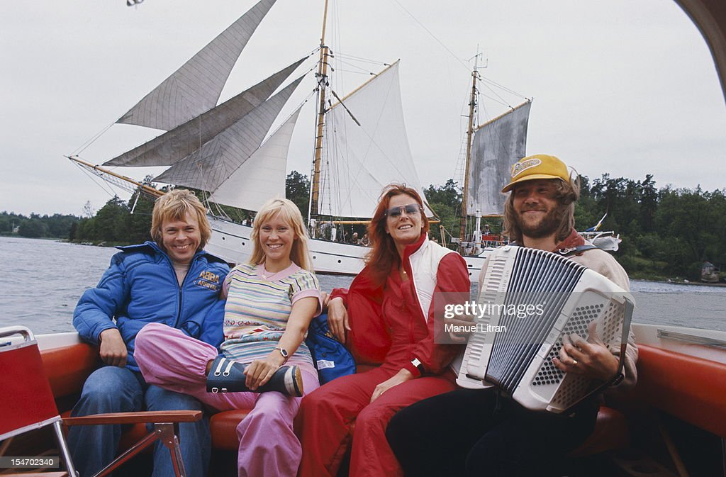 Rendezvous With The Group Abba : News Photo