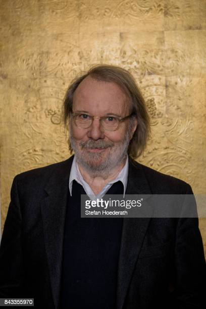 Benny Andersson poses for a photo during Universal Inside 2017 organized by Universal Music Group at Mercedes-Benz Arena on September 6, 2017 in...